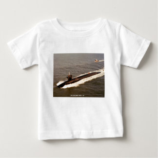 USS TENNESSEE BABY T SHIRTS
