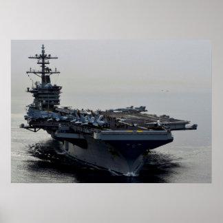 USS Theodore Roosevelt (CVN 71) Poster