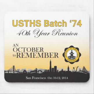 USTHS Partij '74 Mousepad Muismatten