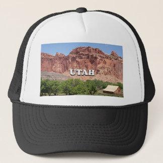 Utah: Fruita, het Nationale Park van de Ertsader Trucker Pet