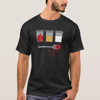 Utopie: Spaanse pepers, zand, bleekmiddel, een T Shirt