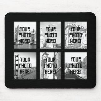 Uw Collage Mousepad van de Foto Muismatten