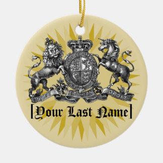 Uw CREST van de Familie met het Ornament van de