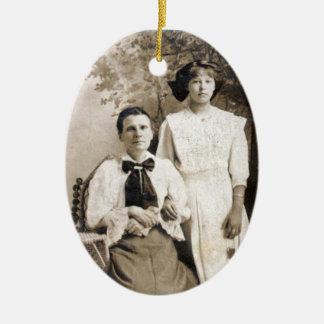 Uw Erfgoed van de Familie Keramisch Ovaal Ornament