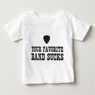 Uw favoriete band zuigt baby t shirts