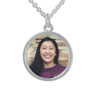 Uw foto personaliseerde hier foto zilveren ketting