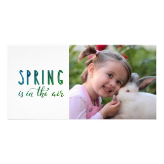 Uw foto van kindPasen - de lente Kaart
