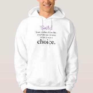 Uw moeder koos het leven hoodie