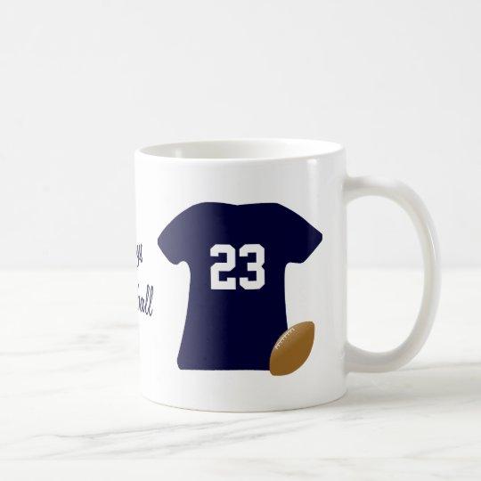 Uw Overhemd van het Football met Bal Koffiemok