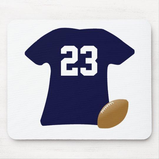 Uw Overhemd van het Football met Bal Muismatten