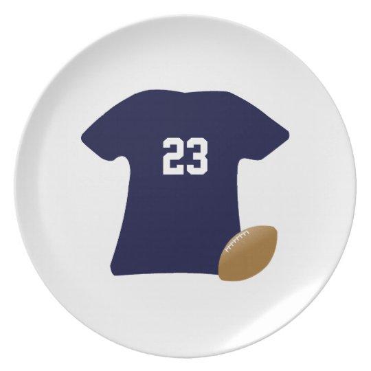 Uw Overhemd van het Football met Bal v2 Borden