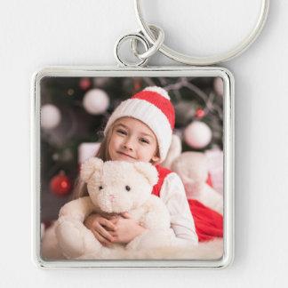 Uw Persoonlijke Foto van Kerstmis Sleutelhanger