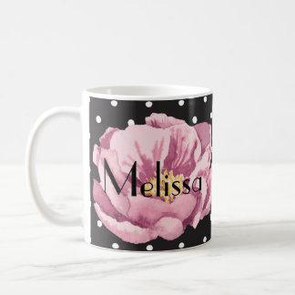 Uw roze papaver van de Naam Koffiemok