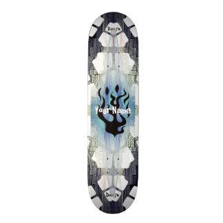 Uw Vlammen van de Naam 20,0 Cm Skateboard Deck