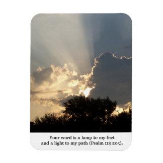 Uw Word is de Vingers van een Lamp van God Magneet