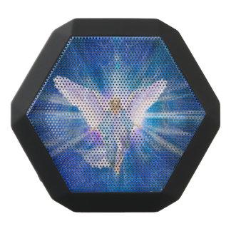 V009-engel 5 Blauw Zwarte Bluetooth Speaker