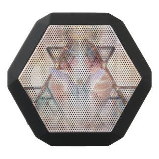 V015- Het Hart van de engel Zwarte Bluetooth Speaker