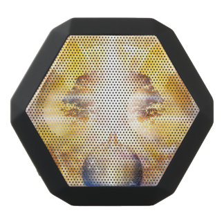 V026- Boom van Lichte Vleugels Zwarte Bluetooth Speaker