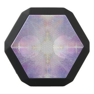V081 Portaal aan Wit Licht Zwarte Bluetooth Speaker