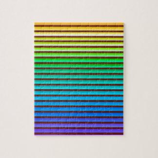 v achtergrondregenboog legpuzzel