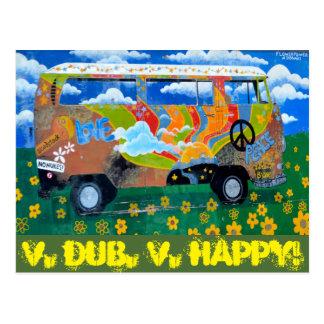 V. kopie, V.Happy! Briefkaart