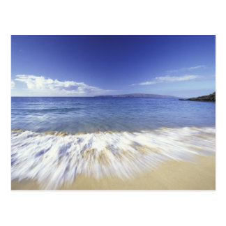 V.S., Hawaï dat, Maui, Branding aan Makena de Briefkaart