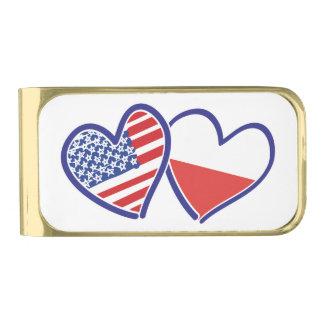 V.S.-Pools-vlag-HARTEN Vergulde Geldclip