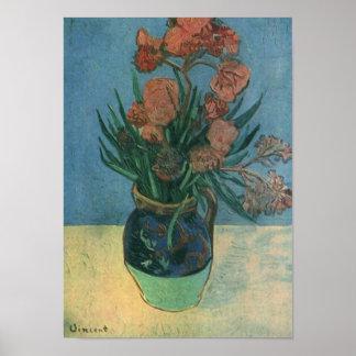 Vaas met Oleanders Van Gogh Fine Art. Poster