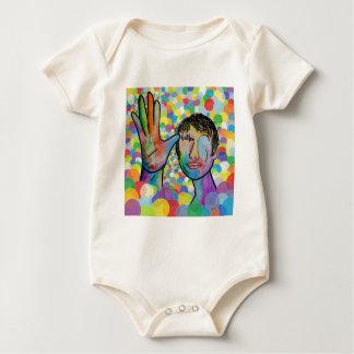 VADER ASL op de Heldere Achtergrond van de Bel Baby Shirt