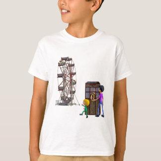 Vader en Zoon klaar om een Reuzenrad te berijden T Shirt