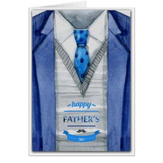 Vaderdag - het Kostuum van de Waterverf Wenskaart