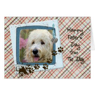 Vaderdag van de Hond Wenskaart
