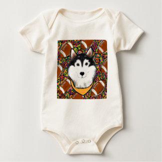 Vaders Dag Malamute Van Alaska Baby Shirt