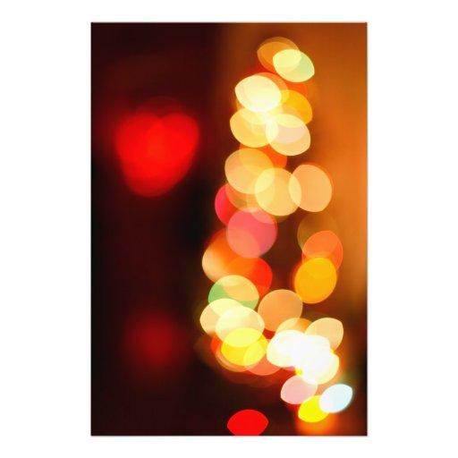 Vage Kerstboom Fotografische Afdruk