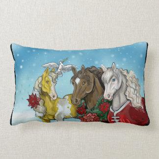Vakantie Horses~pillow Lumbar Kussen