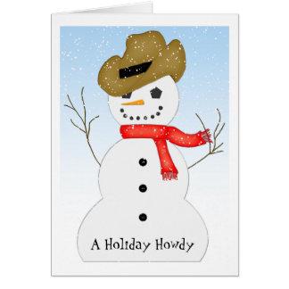 Vakantie Howdy Briefkaarten 0
