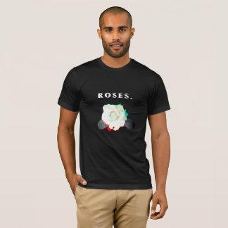 """Valencia """"Rozen."""" Het Zwarte T-shirt van het"""