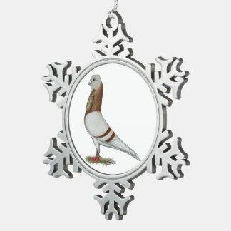 Valencian Duif Figurita Tin Sneeuwvlok Ornament