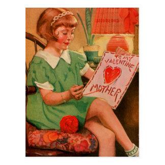 Valentijn aan Moeder Briefkaart