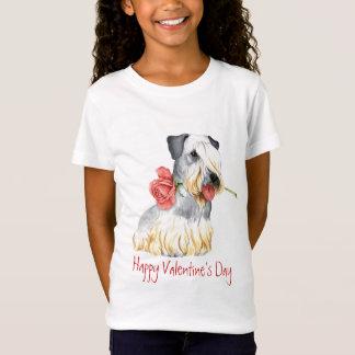 Valentijn nam Cesky Terrier toe T Shirt