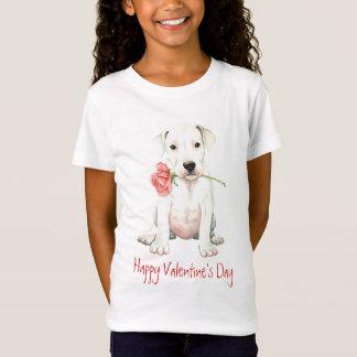 Valentijn nam Dogo toe T Shirt
