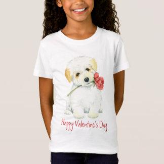 Valentijn nam Katoen toe T Shirt