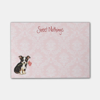 Valentijn nam Lange Laag Chihuahua toe Post-it® Notes