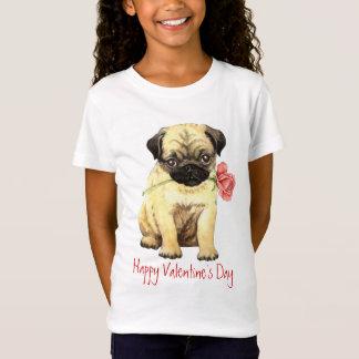 Valentijn nam Pug toe T Shirt