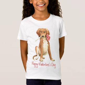Valentijn nam Saluki toe T Shirt