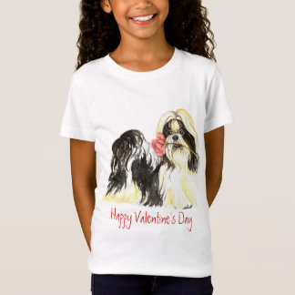Valentijn nam Shih Tzu toe T Shirt