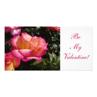 Valentijn nam toe persoonlijke fotokaarten