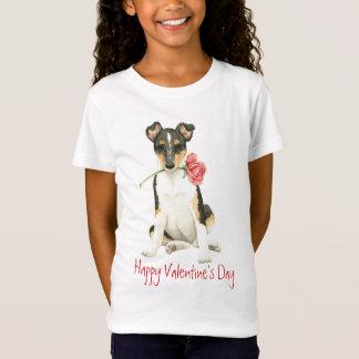 Valentijn nam Vlotte Collie toe T Shirt