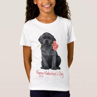 Valentijn nam Zwart Laboratorium toe T Shirt