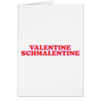 Valentijn Schmalentine Kaart